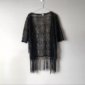Beach Cover Lace with Tassels | Small | NEW